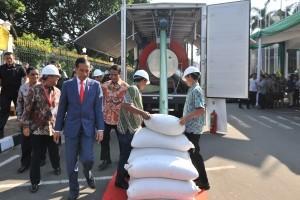 President Jokowi visits Indo Livestock 2018 Expo & Forum at the Jakarta Convention Centre (JCC), Senayan, Jakarta, on Friday (6/7) (Photo: Jay/PR)