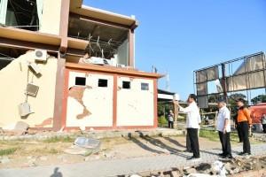 President Jokowi visited quake-hit Lombok several days ago