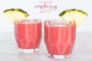 Pineapple Raspberry Smoothie Recipe