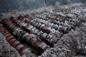 Утилизация снега шнеки