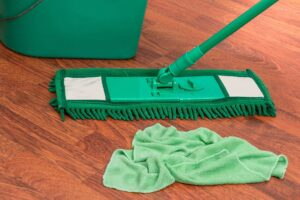 cleaning hardwood floors in Westchester