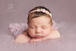 Baby Girl Newborn Photography Leicester