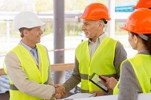 Arbeiter, Architekt, Bauhandwerkwer, Bauherr, Bau, bauen