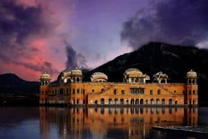 Water Palace near Jaipur Built in 1799
