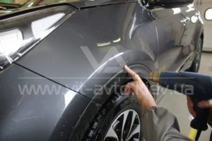 Антигравийная пленка на Kia Sportage фото 4
