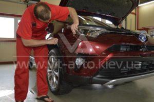Антигравийная пленка на Toyota Rav 4 фото 2