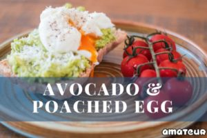 Smashed Avocado and Poached Egg On Toast