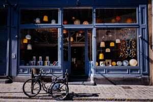 Blog ontmoeting in de winkel