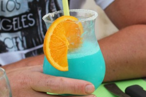 Bar, cocktail, glace au camping