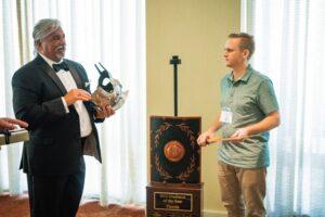 dui attorney aaron wayt accepts award