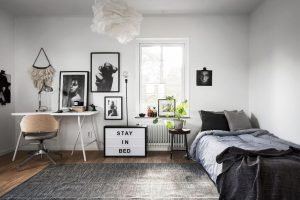 BEDROOM SMALL HOME OFFICE IDEAS