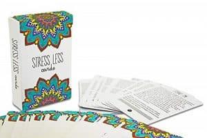stress less mindfulness cards