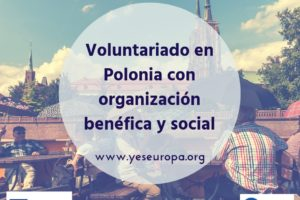 Plazas Voluntariado en Polonia
