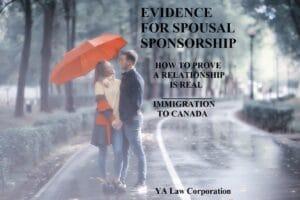 Spousal sponsorship