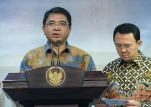 Kepala BKPM sampaikan keterangan pers kemarin (20/1) di Kantor Presiden, Jakarta. (Foto:Humas/Jay)