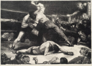A Knockout, George Bellows 1921