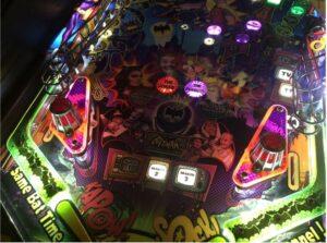Batman 66 Pinball slingshot Dome Covers