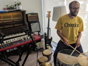 Vince Reel Guitar Drum Reggae Lessons Toronto