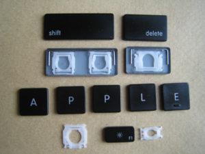 Замена кнопок на клавиатуре Apple MacBook