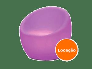 Móveis Led - Puffs, Mesas, Esferas, Poltronas, Balcões 4 poltrona led locacao 400x300
