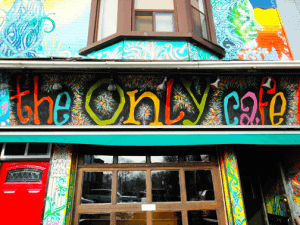 The Only Cafe Danforth Toronto Open Mic Night