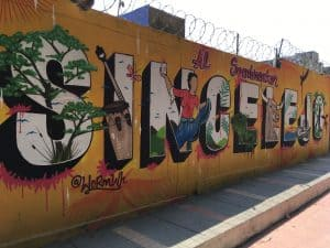 where is the sincelejo mural art ?