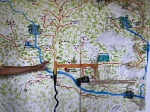 map of minca