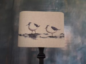 Ecran pour lampes à poser