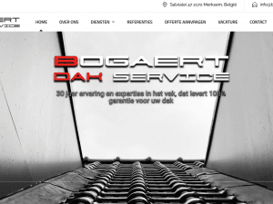 bogaert dakservice website