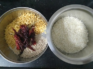 Ingredients for Adai Dosa