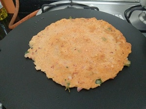 Adai dosa is now ready