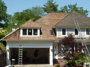 Cedar Shake Roof Testimonial In Progress-