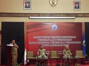 Discussion in BNPP Bakohumas Thematic Forum at Media Hotel, Jakarta, Monday (10/9). (Photo: PR/Edi)