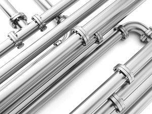 Langlebig, stabil und hygienisch: Wasserleitungen aus Edelstahl. Tipp zum Bau gibt hilfreiche Tipps.