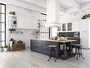 Welche Küchenarten es neben der offenen Wohnküche gibt, erfahren Sie bei Tipp zum Bau.