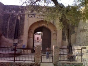 The Entrance of Bhatner Fort, Hanumangarh City in Rajasthan