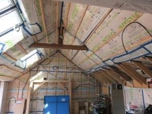 Visitez une maison en cours de rénovation énergétique