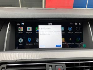BMW Android Touchscreen 10,25 Zoll Display nachrüsten in Berlin 4