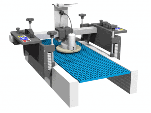 Nettoyage tapis à mailles Static spinner system KHD