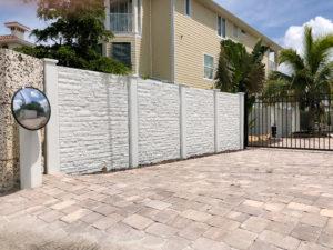 Permacast precast concrete fence - Permafence 5