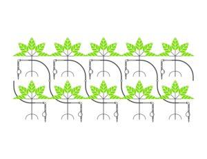 Schema irrigazione a goccia