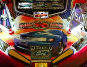 Mustang Pinball Plastic Protectors