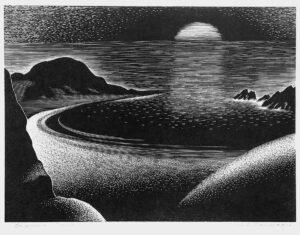 Paul Landacre's Laguna Cove, 1935