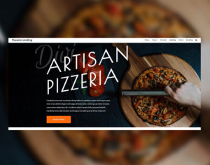 web Martinique site web pizza