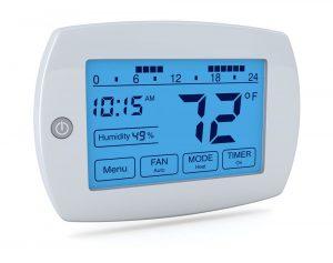 CCTV digital thermostat