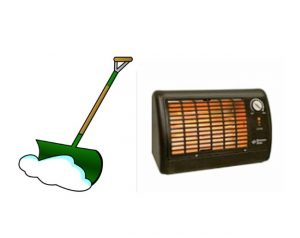 WHOLESALE SNOW SHOVELS-SPACE HEATERS