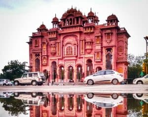 Patrika Gate At Jaipur Jawahar Circle, Rajasthan