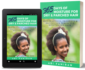 365 Days of Moisture for Dry & Parched Hair 3D copy