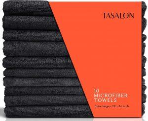 TASALON Microfiber Hair Towel