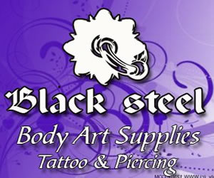 Black Steel Tattoo Supplies